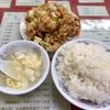 中区錦町 本牧マリンハイツの「百鶴楼」で鶏肉唐揚げ定食