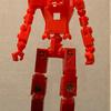 ロボットの塗装 2回目の挑戦 今回は脚だけ