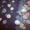 ■カンタ刺繍(ラリーキルト)の座布団カバー