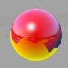iOS で SceneKit を試す(Swift 3) その37 - Scene Editor の Material、Shininess と Fresnel