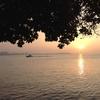 台北 淡水の夕暮れです