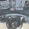 キッチンシンクの排水口の蓋とネットは外して使うのがキレイの秘訣かも。