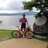 北海道サイクリング 阿寒湖