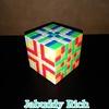 ルービックキューブで模様を作りました! Rubik's Cube art design