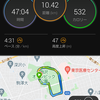 連休最終日 - 10kmペース走、そして糖質制限へ