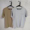 無印良品の無地ポケットTシャツは、色違いで買ってしまうほどの完成度だった。