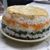今日の塩麹(?)お寿司ケーキ