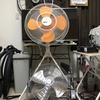 ローラー台に工業用扇風機増設 505KJ