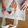 ワークショップのその後のある日 「クレヨンでオリジナルマイバッグをつくろう」in埼玉県越谷レイクタウン