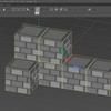 ブロック積み上げ実験(3) 先に積み上げてからインポートする