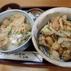 西川口の「二幸」でそばかき揚げ親子丼定食を食べました★