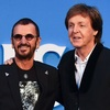 ポール・マッカートニーとリンゴ・スター ビートルズ映画『Eight Days A Week』のプレミアにそろって登場