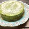抹茶ムースのケーキ