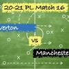 【こじ開ける道】Premier League 16節 エバートン vs マンチェスター・C