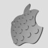 AppleロゴをLEGO化してみた