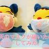 【新型コロナウイルス】楽天で買ったガーゼマスク、Tシャツマスクが届いた!