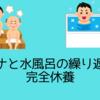 【完全休養】サウナと水風呂の繰り返し!