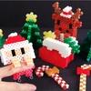 [アイロンビーズ]つかまりサンタとトナカイ!立体組み立て式のクリスマスを作ってみた!