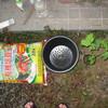 8/10 夏オクラ植えてみました。 0日目