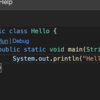 Gitpod(Eclipse Theia)でJavaを書いてみる