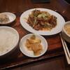 紅虎餃子房の回鍋肉定食 (ランチ)