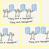 英語で「彼らはスマホを持っています」と言うとき、スマホは単数形でも複数形でもOK