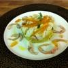 その160 【レシピ公開シリーズ】たことジャガイモのタルト仕立て ・カラスミの香り