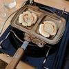 ホットサンドクッカーのトラメジーノを使って焼き餅を作った話
