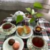 しょうがたっぷりの紅茶(Ginger tea)