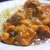 ラム肉のモロッコ風 煮込み、クスクス添え