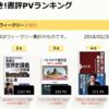 本が好き!書評PVランキング 18/02/26 - 18/03/04 #本が好き #書評 #ランキング