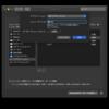 macOS ショートカットメモ