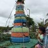 世界一!印象に残るクリスマスツリー☆を、ガラパゴスで発見!(バルトラ島・エクアドル