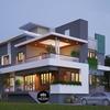 Mẫu biệt thự đẹp hiện đại 2 tầng 2 mặt tiền tại Phước Long