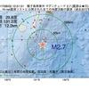 2017年08月02日 10時51分 種子島南東沖でM2.7の地震