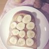 とっても美味しくて簡単!《メープルバナナ×ピーナッツ玄米食パン♪》