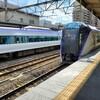 【乗車記】甲府-新宿 特急かいじ(E353系)グリーン車に乗車した