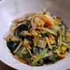 ニラと白菜のエビ炒め 冬の薬膳⑨