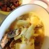 鯖水煮缶鍋、ひじきと大豆煮物