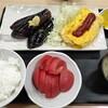 西川口の「あおき食堂」でなす油焼きとたまご焼き定食を食べました★