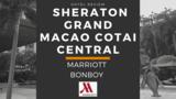 シェラトングランド マカオホテル コタイセントラルのフィットネスジムとプール