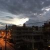 ン?!降りそうな雲がきてる〜〜。