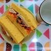 【グルテンフリー】【糖質制限】大豆粉の蒸しパンでチキンサンドの作り方。