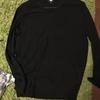 ユニクロで買い物-MEN エクストラファインメリノVネックセーター