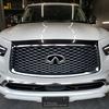 自動車ボディコーティング#115 インフィニティ/QX80 2021´  ボディ磨き+樹脂硬化型コーティング【Ω/OMEGA】+ホイール・ヘッドライト・ウィンドウウロコ取り・メッキパーツ・未塗装樹脂パーツ各コーティング