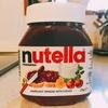 nutella(ヌテラ)にハマってます。