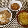 昨日の夕飯、納豆ご飯 DELUXE VER😆
