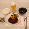 【マニラ旅行】羽田のファーストクラスラウンジと飛行機から見たマニラの夜景