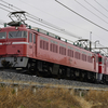 2/20 ED75-759 AT出場 / クモヤ145-107 廃車回送 / AB900系 甲種輸送 / MUE-train 青梅線検測返却回送