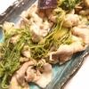 「豚肉と豆苗となすの炒め物」レシピ